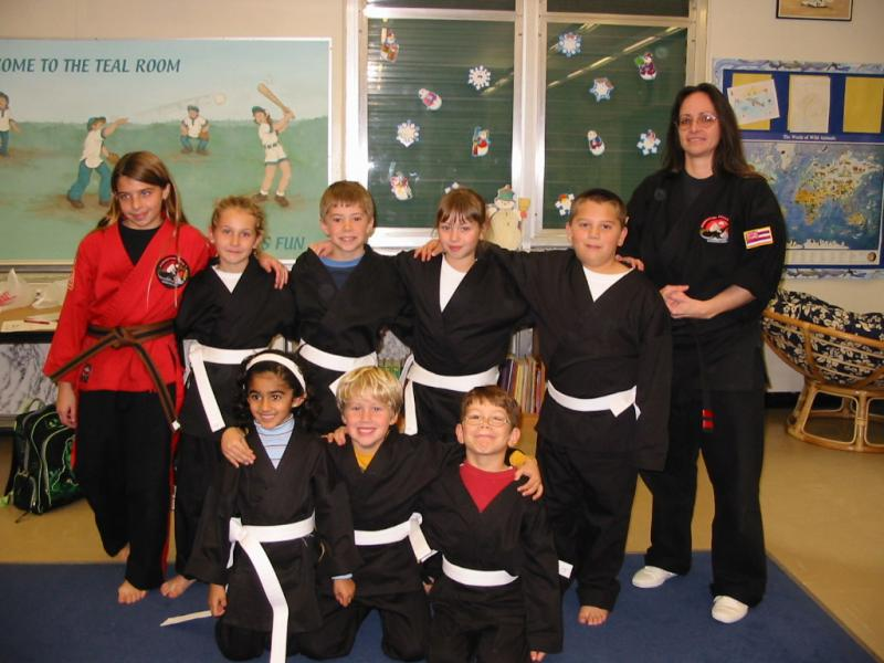 Class photo Jan 27 2004
